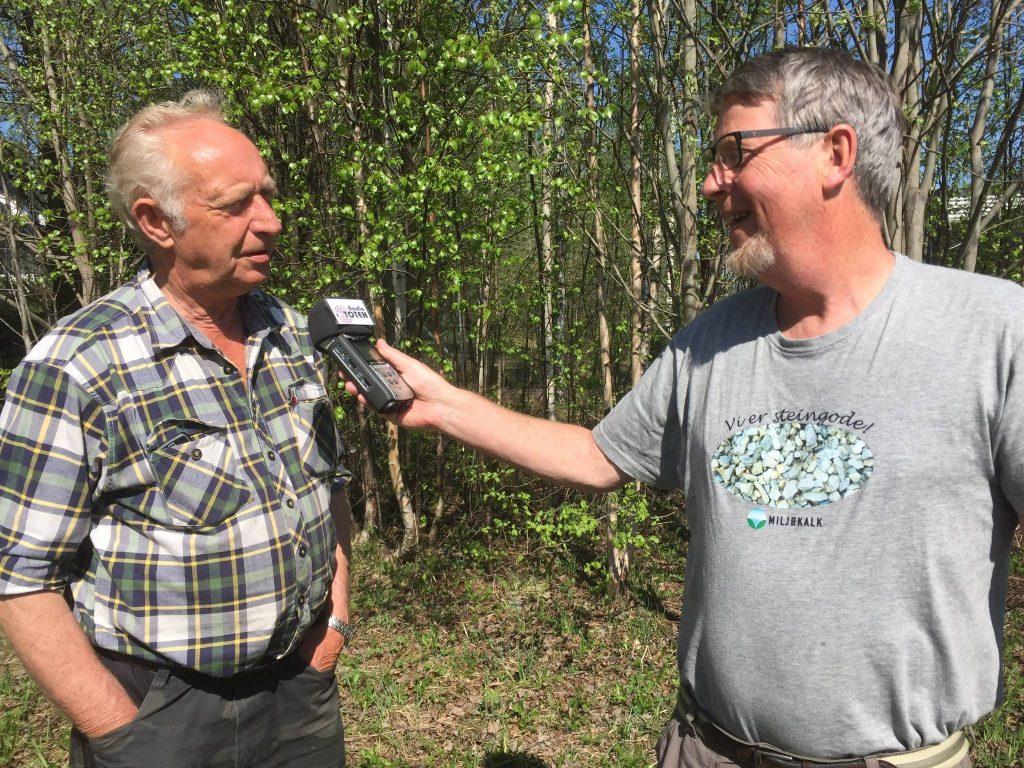 Her Jan Nesset som ble intervjuet av Jan Erik Sandmo