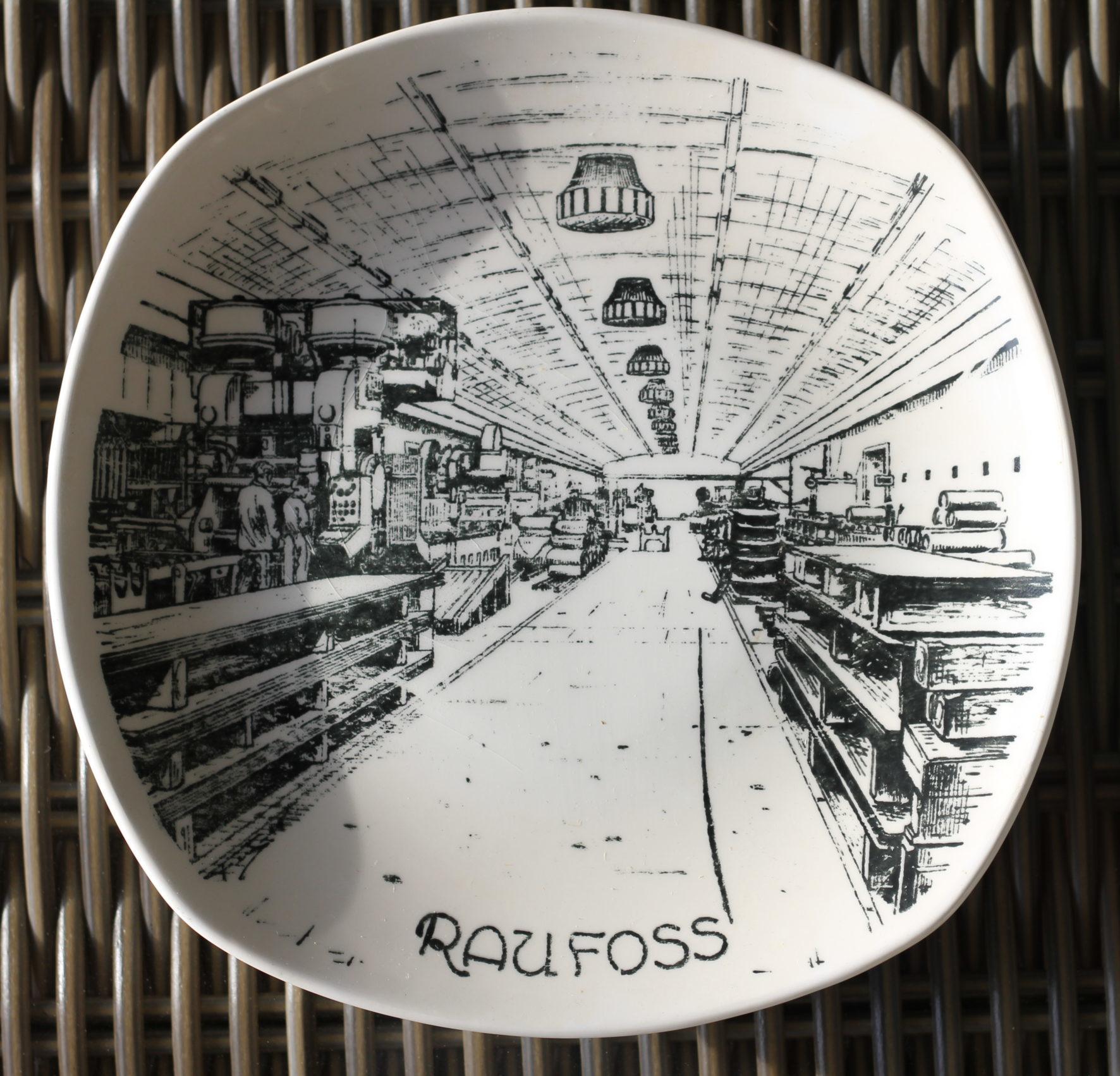 Første valseverket platte utgitt 1982 – Fra valseverkhallen i Fjellanlegget