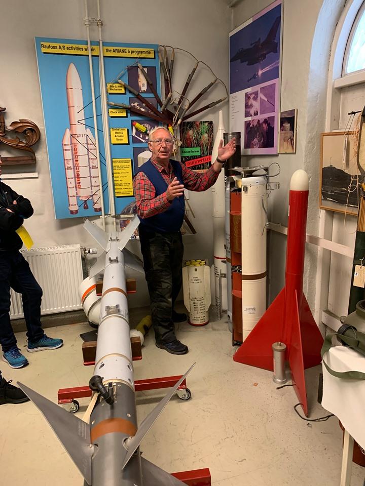 Hjørne for RA`s Rakett historie