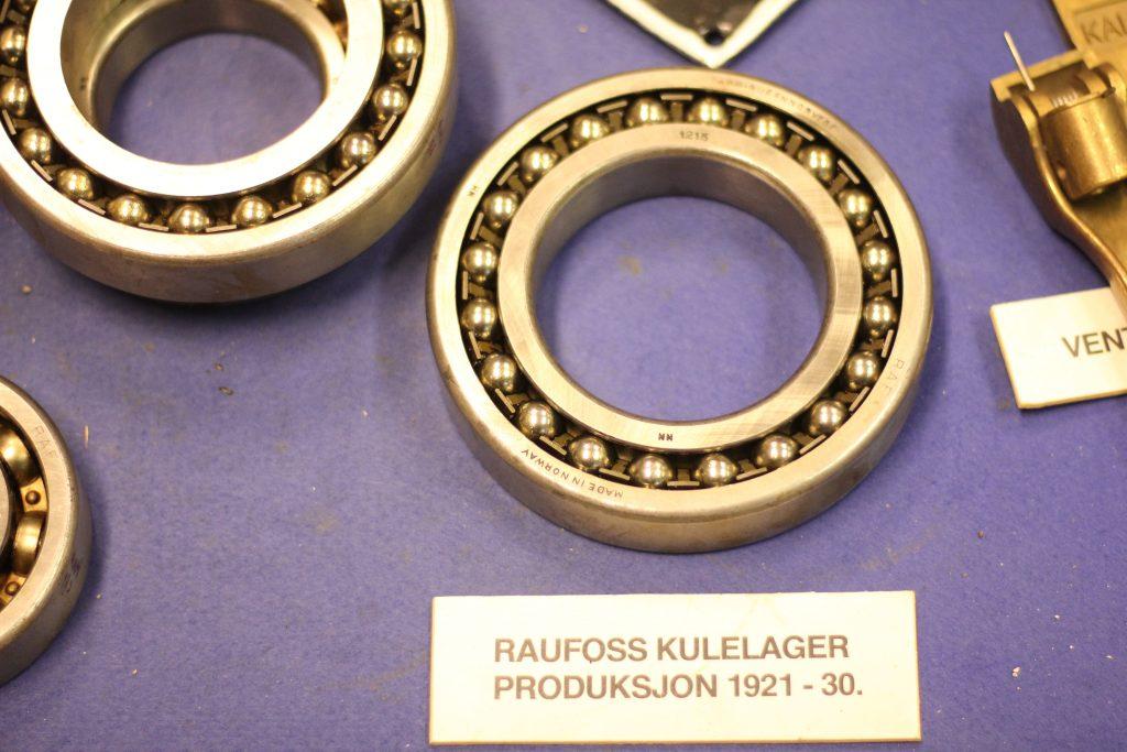 Kulelager laget på Raufoss fra 1921 til 1930
