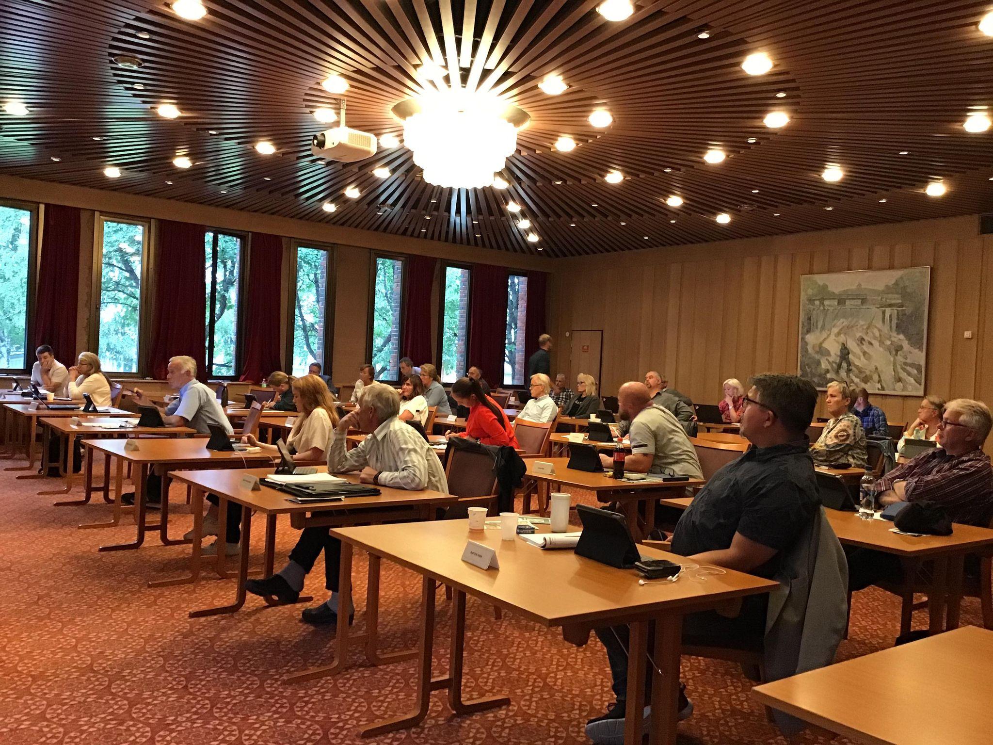 Kommunestyremøte fra Vestre Toten 27. august 2020