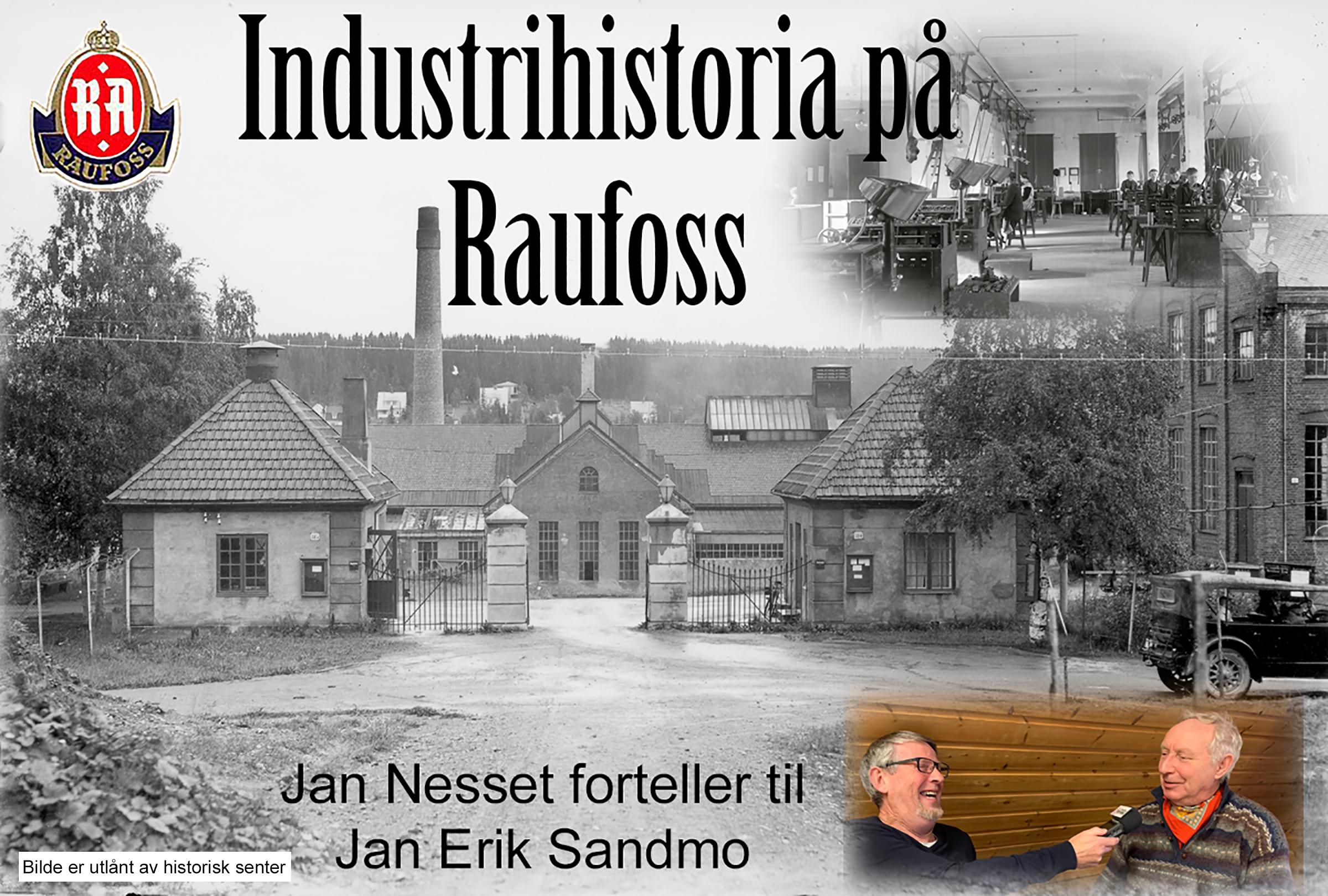 Raufoss annunisjonsfabrikk 1933